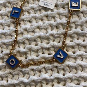 Tory Burch Jewelry - NWT Love Necklace Tory Burch